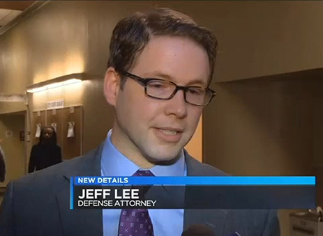 Jeff Lee on the evening news